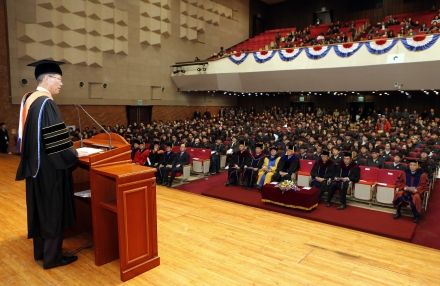 포스텍 2017학년도 입학식 개최